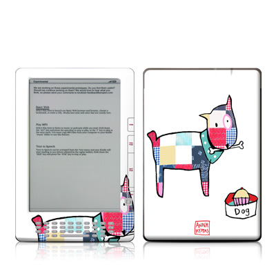 Kindle DX Skin - Patch Dog