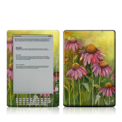 Kindle DX Skin - Prairie Coneflower