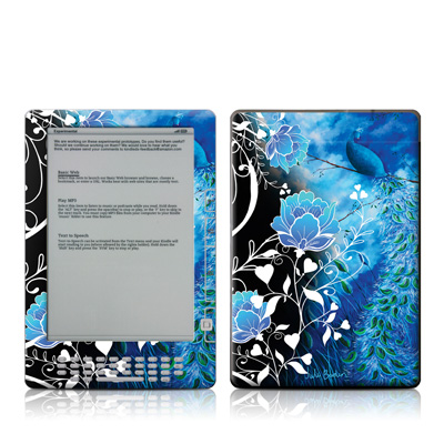 Kindle DX Skin - Peacock Sky