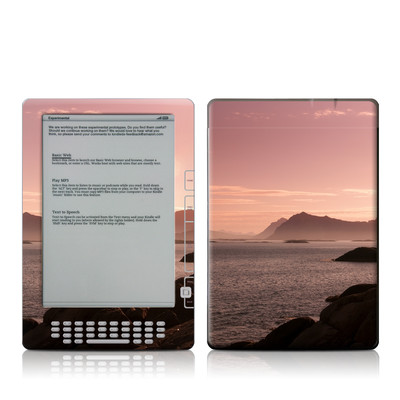 Kindle DX Skin - Pink Sea
