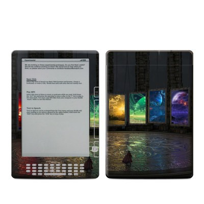 Kindle DX Skin - Portals