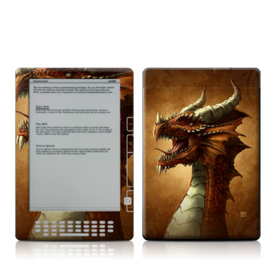 Kindle DX Skin - Red Dragon