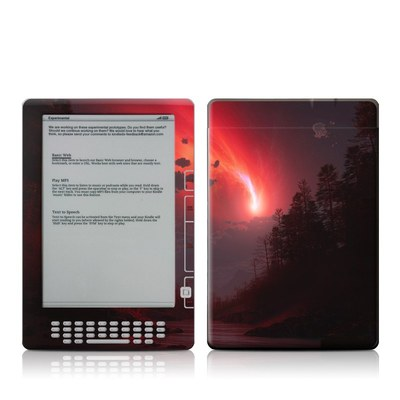 Kindle DX Skin - Red Harbinger