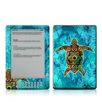 Kindle DX Skin - Sacred Honu
