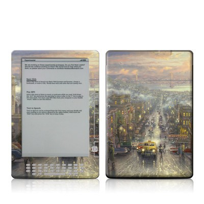 Kindle DX Skin - Heart of San Francisco