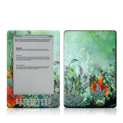 Kindle DX Skin - Sea Flora