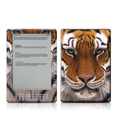 Kindle DX Skin - Siberian Tiger