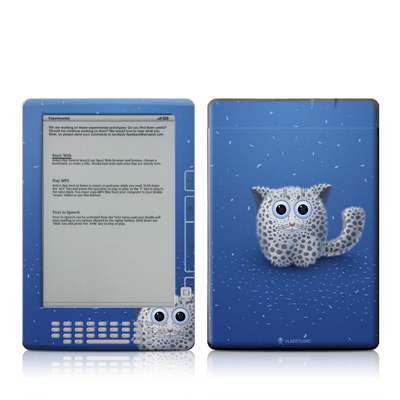 Kindle DX Skin - Snow Leopard