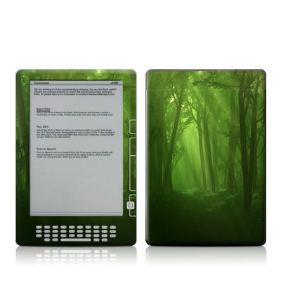 Kindle DX Skin - Spring Wood