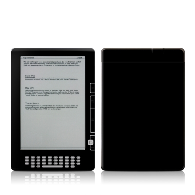 Kindle DX Skin - Solid State Black