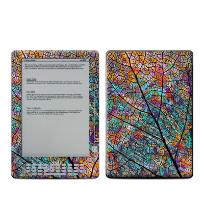 Kindle DX Skin - Stained Aspen