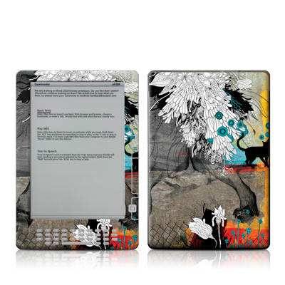 Kindle DX Skin - Stay Awhile
