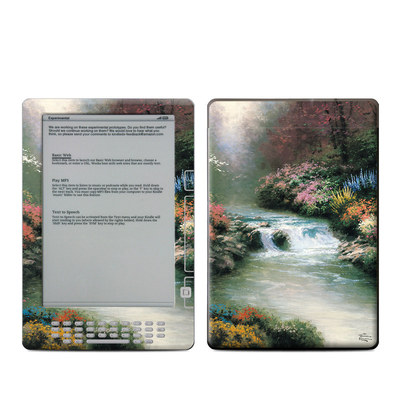 Kindle DX Skin - Beside Still Waters