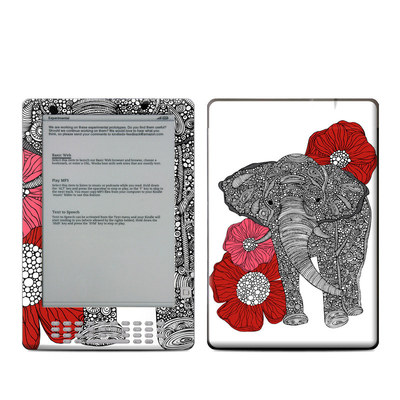 Kindle DX Skin - The Elephant
