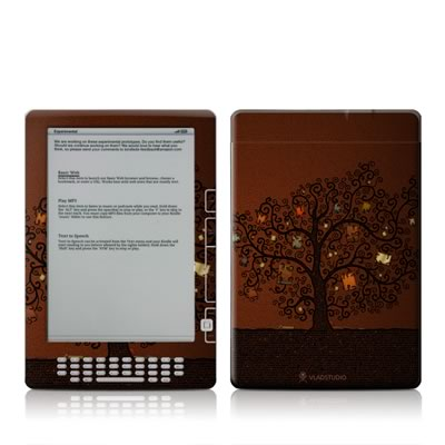 Kindle DX Skin - Tree Of Books