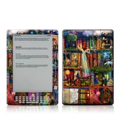 Kindle DX Skin - Treasure Hunt