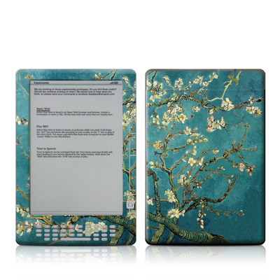 Kindle DX Skin - Blossoming Almond Tree