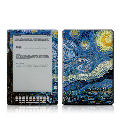 Kindle DX Skin - Starry Night