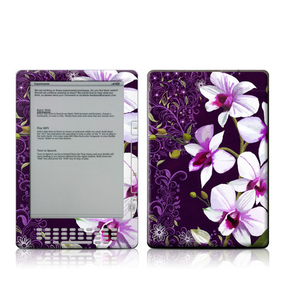 Kindle DX Skin - Violet Worlds