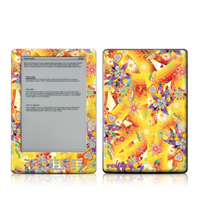 Kindle DX Skin - Wall Flower