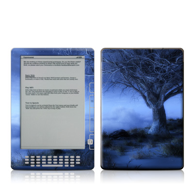 Kindle DX Skin - World's Edge Winter