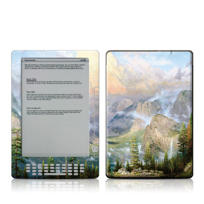 Kindle DX Skin - Yosemite Valley