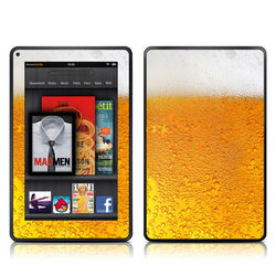 Kindle Fire Skin - Beer Bubbles