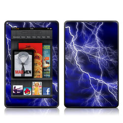 Kindle Fire Skin - Apocalypse Blue
