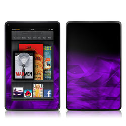 Kindle Fire Skin - Dark Amethyst Crystal