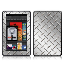 Kindle Fire Skin - Diamond Plate