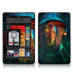 Kindle Fire Skin - Gypsy Firefly
