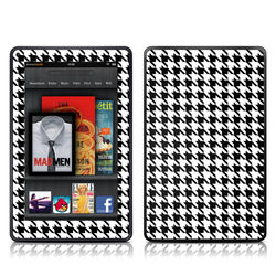 Kindle Fire Skin - Houndstooth