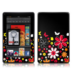 Kindle Fire Skin - Laurie's Garden