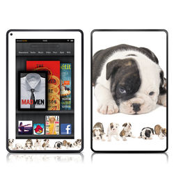 Kindle Fire Skin - Lazy Days