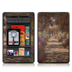 Kindle Fire Skin - Monet - Garden at Giverny