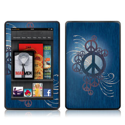 Kindle Fire Skin - Peace Out
