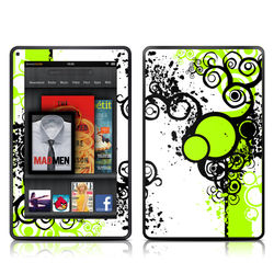 Kindle Fire Skin - Simply Green