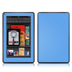 Kindle Fire Skin - Solid State Blue
