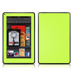 Kindle Fire Skin - Solid State Lime