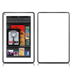Kindle Fire Skin - Solid State White