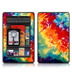 Kindle Fire Skin - Tie Dyed