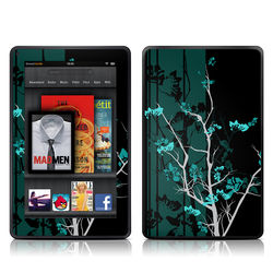 Kindle Fire Skin - Aqua Tranquility