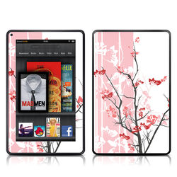 Kindle Fire Skin - Pink Tranquility