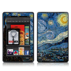 Kindle Fire Skin - Starry Night