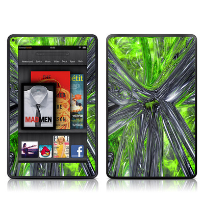 Kindle Fire Skin - Emerald Abstract