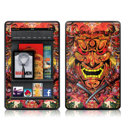 Kindle Fire Skin - Asian Crest