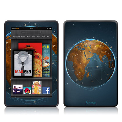 Kindle Fire Skin - Airlines