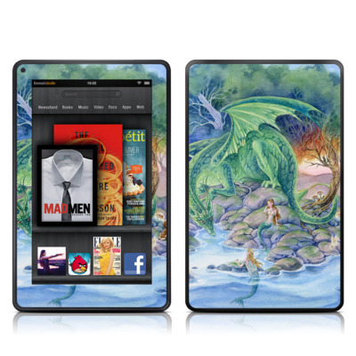 Kindle Fire Skin - Of Air And Sea
