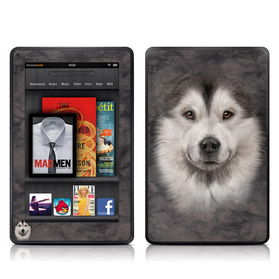 Kindle Fire Skin - Alaskan Malamute