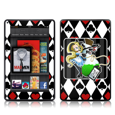 Kindle Fire Skin - Alice
